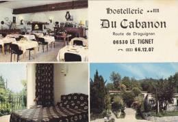 Cp , HÔTELS & RESTAURANTS , Hostellerie **NN Du Cabanon , 06530 Le Tignet, Multi-Vues - Hoteles & Restaurantes