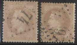 France Maury 28 I T. I _var - 1862 Napoleon III