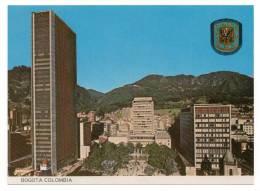 COLOMBIA - COLOMBIE - BOGOTA - Santander Square Section - Vue Générale Alentour - Blason - Coul - Ann 70 - - Colombia