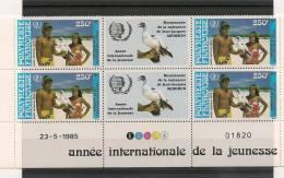 POLYNÉSIE  Année  1985 P.A. COINS DATES  N° Y/T :188**  Côte 37,00 € - Luchtpost