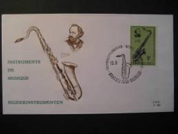 Bruxelles 1973 SAX Saxophone Saxophonist Instrument Musee Museum Musique Music Musica Belgie Belgique Belgium - Musik