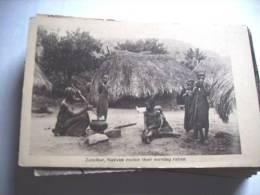 Afrika Africa Tanzania Zanzibar Natives Cooking - Tanzania