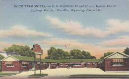 Wyoming Sheridan Rock Trim Motel