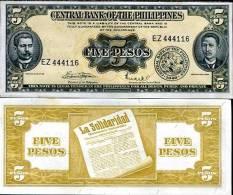 PHILIPPINES 5 PESOS P 135 F UNC - Filipinas