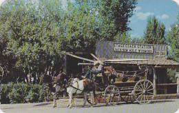 Wyoming Jackson Old Stagecoach And Stage Station On The Square