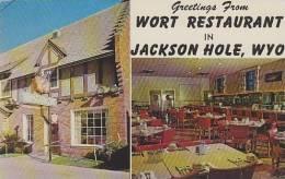 Wyoming Jackson Hole Wort Restaurant