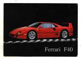 Automobile Ferrari Modele F40  Photographe Ron Kimball En 1990 - Turismo