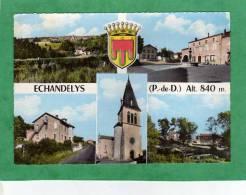 Echandelys Multi-vues église Vue Générale Etc. - Autres Communes