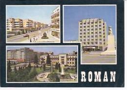 ROMAN  1 Bulevard Nicolae Titulescu  2 L'Hotel Roman  3 La Mairie - Rumänien