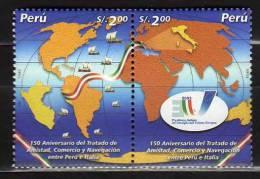 Pérou 1342/3 Neuf ** - Peru
