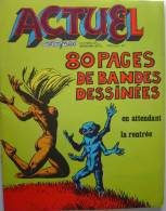 ACTUEL 1ère Formule N°35 (09/73) : 80 Pages De Bandes Dessinées - Informations Générales