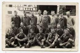 Cpa Carte Photo Stalag IX B Guerre 39-45   Cachet Au Dos     PONT26 - Guerre 1939-45