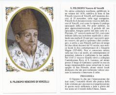 San Filosofo Vescovo Di Vercelli - Sc1(390) - Santini