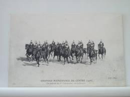 GRANDES MANOEUVRES DU CENTRE (1908) - UN PELOTON DU 8e CUIRASSIERS EN ECLAIREURS (EDITION ND PARIS N° 33) - Manoeuvres