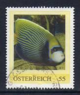 Oostenrijk, Persoonlijke Zegel, Gestempeld,  Vis, Zie Scan - Autriche