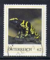 Oostenrijk, Persoonlijke Zegel, Gestempeld,  Vuursalamander, Zie Scan - Autriche