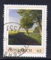 Oostenrijk, Persoonlijke Zegel, Gestempeld,  Landschap, Zie Scan - Autriche