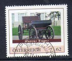 Oostenrijk, Persoonlijke Zegel, Gestempeld,  Koets, Zie Scan - Autriche