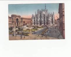 ITALIA - [OF #11787] - MILANO - PIAZZA DEL DUOMO - TRAM TRAMWAY - Milano