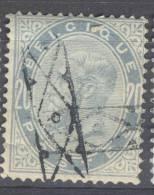 _Ni210 :  N° 39: Roulette Stempel - 1883 Leopoldo II