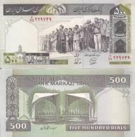 Iran P137i, 500 Rials, Madressa Seminary Prayer Mtg, / Univ. Tehran $3CV - Irán