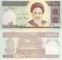 Iran P143, 1000 Rials, Khomeini / Dome Of The Rock READ - Iran