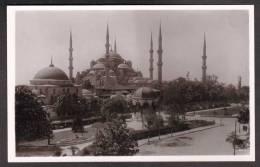TY9) Istanbul - Sultan-Achmed-Moschee / Ayasofya / Hagia Sophia - RPPC - Turkey