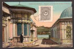 TY11) Constantinople - Fontain Et Tures Des Sultans à Eyoub - Turkey