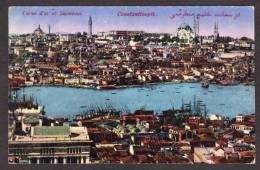 TY13) Constantinople - Corne D'or Et Stamboul - Turkey