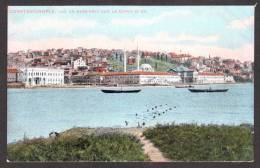 TY15) Constantinople - Vue De Hass-Kevy La Corne D'or - Turkey