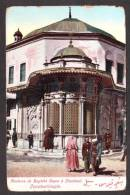 TY16) Constantinople - Fontaine De Bagtché Capon à Stamboul - Turkey