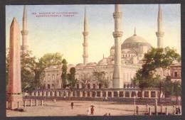 TY17) Constantinople - Mosque Of Sultan Ahmid / Ayasofya / Hagia Sophia - 1913 - Turkey
