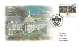 2002  Saint-Mary's University Halifax Sc 1944 - Premiers Jours (FDC)