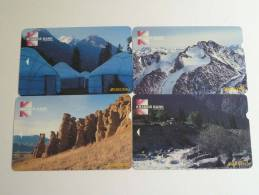 Kyrgyzstan - 4 Cards - Kramds Bank - Areopag - Kyrgyzstan
