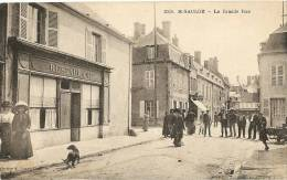 58 - NIEVRE - SAINT SAULGE - La Grande Rue - Francia