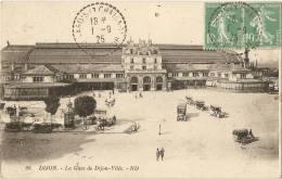 21 - COTE D´OR -  La Gare De Dijon - Ville - Dijon