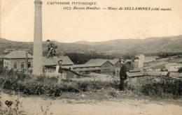 CPA - 63 - Mines De SELLAMINES - 553 - France