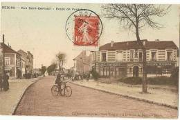 95 - VAL D´OISE -  BEZONS - Route De Pontoise - Bezons