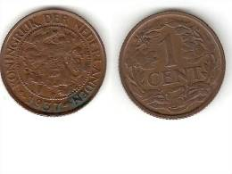 Netherlands  1 Cent 1937 Km 152   Xf   !!! - [ 3] 1815-… : Royaume Des Pays-Bas
