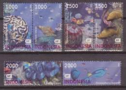 Indonesia, 2002, Maritime Life, Sealife, Set Of 6 Stamps, MNH, *** - Maritiem Leven