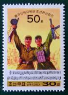VOLONTAIRES CHINOIS DANS LA GUERRE DE COREE 2000 - NEUF ** - YT 3056 - MI 4395 - Corea Del Nord