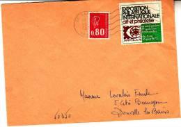 LSI 1811A Non Fluo Peu Fréquent Sartilly Donville - Marcophilie (Lettres)