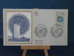 FDC - Organisation Des Nations Unis - Paris - 26.6.1985 - Soie - - FDC