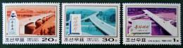 PONTS 2000 - NEUFS ** - YT 2984/86 - MI 4350/52 - Corea Del Nord