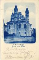Köln V. 1901  St. Aposteln Kirche  --  Siehe Foto !!  (32055) - Köln