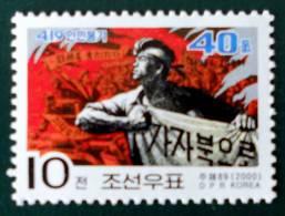 SOULEVEMENT DU 19 AVRIL 2000 - NEUF ** - YT 2944 - MI 4341 - Corea Del Nord