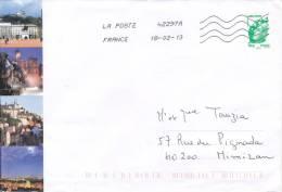 ENVELOPPES , LYON - Marcophilie (Lettres)