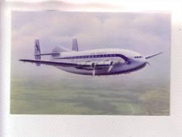 "BREGUET "" PROVENCE "" AVION AVIATION-CIVILE AIR-FRANCE Carte Postale Non écrite - 1946-....: Era Moderna"