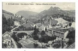 SAINT-CLAUDE  Fabrique D'Ebonite Et De Pipes - Saint Claude