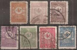 Turchia 1901 Usato - Mi. 86/92  Vedere SCAN - 1837-1914 Smyrna